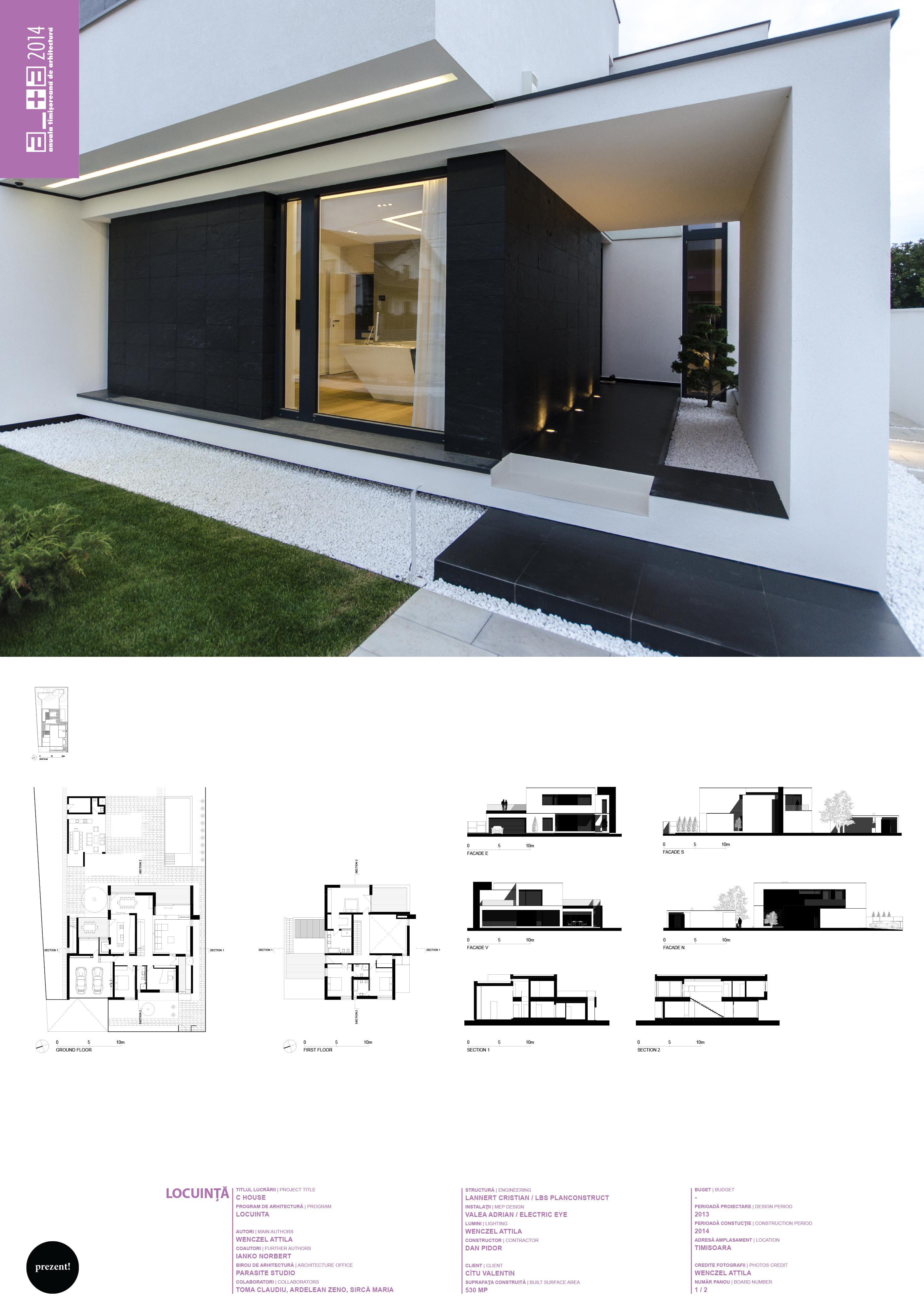 c house x1